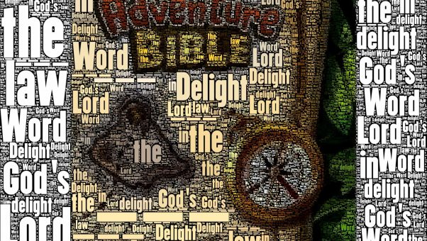 The Adventure Bible for kids is one of the Sandwich Generation granny nanny and grandkids favorites