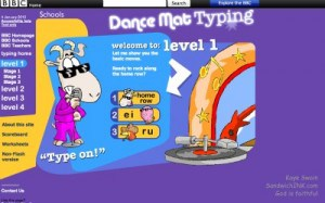 The Sandwich Generation granny nanny and grandkids are really liking these touch typing lessons and games for kids and grand children