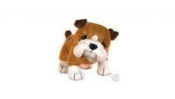 The Sandwich Generation granny nanny and grandkids love Webkinz stuffed animals like this cute bulldog