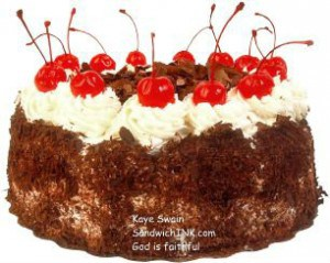 The Sandwich Generation granny nanny does love it when dealing with issues that are a piece of cake