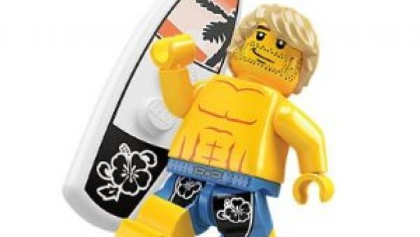 The Sandwich Generation granny nannys grandsons are going to be thrilled to learn they can add a new surfer dude to their collection of old and new LEGOs