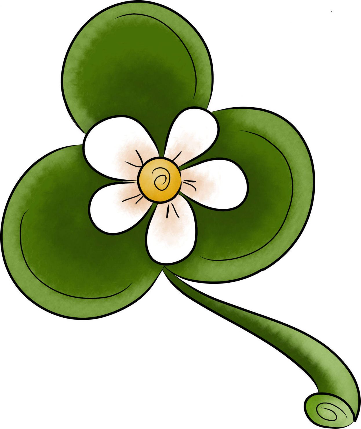 3 leaf clover to remind the Sandwich Generation of the Trinity - Father Son Holy Spirit - during this season of Lent 2012