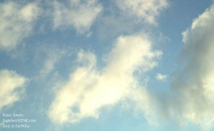 Lovely clouds to encourage all of us in the Sandwich Generation dealing with a variety of multigenerational issues