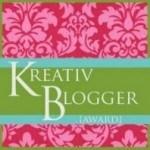kreativ blogger award via Simply Sandwich and SandwichINK for the Sandwich Generation