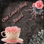 lovely-blog award via Simply Sandwich and SandwichINK for the Sandwich Generation