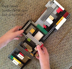 Mental brain exercise activities are just as important for our grandkids as for all of us baby boomers and senior citizens - and LEGOs definitely helps with that