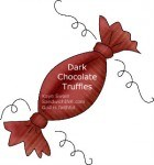 The Sandwich Generation granny nanny LOVES Dark Chocolate truffles - perfect for the Ultimate Blog Party 2012