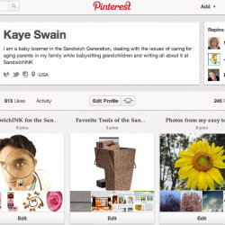 Join SandwichINK for the Sandwich Generation at Pinterest