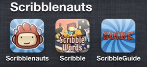 The Scribblenauts file in the Sandwich Generation granny nannys iPhone apps