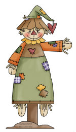 Fall fun for the Sandwich Generation with this cute autumn scarecrow