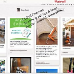 PInterest is a grand resource for the Sandwich Generation