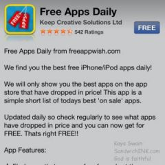 The Sandwich Generation granny nanny loves Free Apps Daily