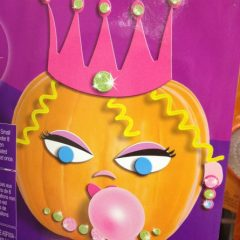 Autumn Bliss for the Sandwich Generation granny nanny and grandkids with this cute pink princess PUMPKIN set