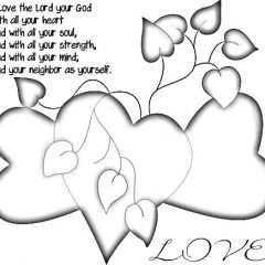 Love the Lord - coloring pages for Halloween trick or treaters and our grandchildren si cp