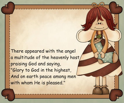 Angels to encourage the Sandwich Generation granny nanny and grandkids