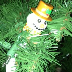 Caregiving sent this cute snowman to the Sandwich Generation granny nanny during the last holiday progressive party