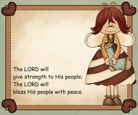 Encouraging Bible verses on peace for the Sandwich Generation si