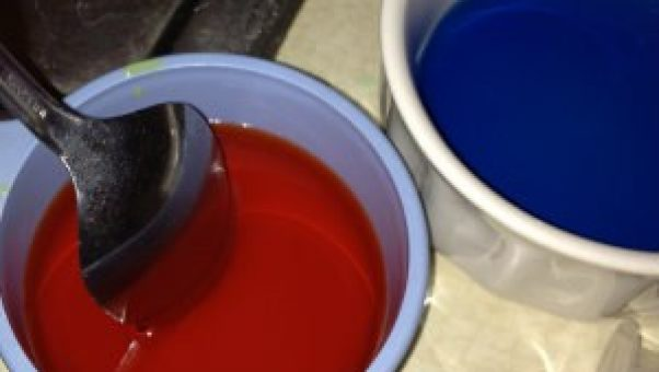 Food coloring add to my grandchildren fun