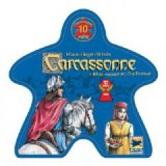 My grandchildren and I love both the Carcassonne board game and the iPhone app