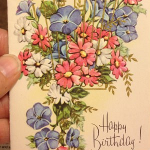 One of the lovely cards this Sandwich Generation granny nanny received years ago and enjoyed again this year
