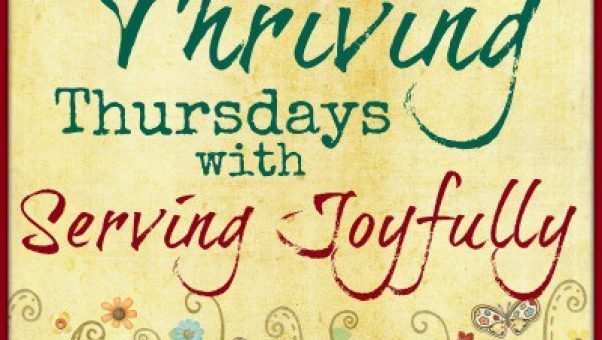 The Sandwich Generation granny nanny is joining Thriving Thursday at Serving Joyfully