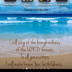 Encouraging Bible verses for the Sandwich Generation granny nanny and grandkids