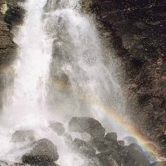 Just as with this lovely waterfall - Gods Word falls into our hearts to reinvigorate caregivers copy