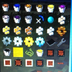 How fun - there are even pretty posies in Minecraft - fun for grandsons and granddaughters