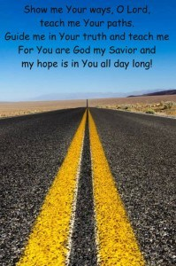 When senior parents or grandkids head out on a road trip - the best gift we can give them is plenty of PRAYER 475