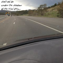 Scripture words of encouragement on the road for the Sandwich Generation