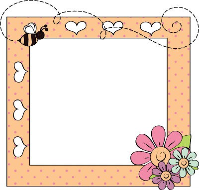 A cute frame for grandkids to decorate for a gift