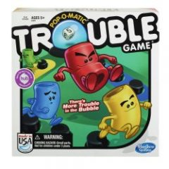 My grandkids and I LOVED the new version of Trouble - but you can easily play the simpler version too