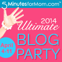 SandwichINK and SandwichINK Real Estate Info are joining in the fun at the Ultimate Blog Party 2014 at 5 Minutes for Mom which is also open to grandparents boomers and seniors