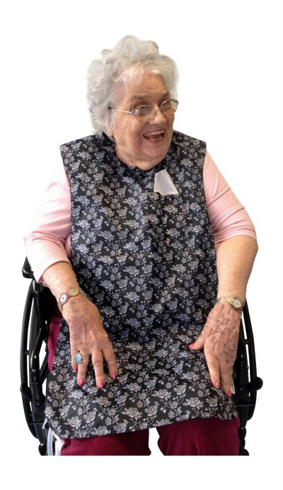 TidyTop Bibs-smocks are great for boomers and seniors and look cute too