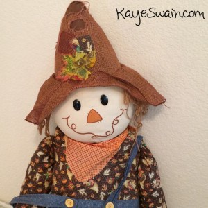 This sweet scarecrow has been fun for kids and grandkids in Roseville California and beyond-Kaye Swain REALTOR