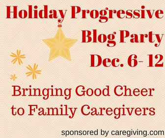 Roseville CA Real Estate Agent Blogger Caregiver visiting Caregiving Holiday-Progressive-Blog-Party3