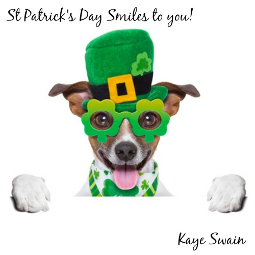 Happy St Patricks Day from Kaye Swain Roseville to multigenerational Sandwich Generation caring for elderly parents babysitting grandkids