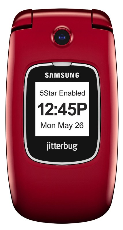 Jitterbug cell phones for elderly seniors Kaye Swain senior mom favorite