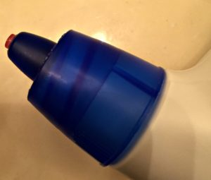 Lysol toilet bowel cleaner cap hard to open