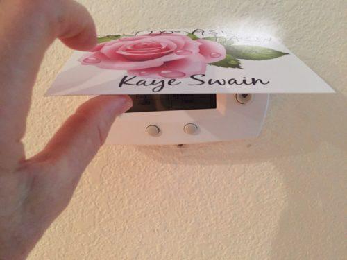 Thermostat options for senior mom Kaye Swain Roseville Real Estate Agent