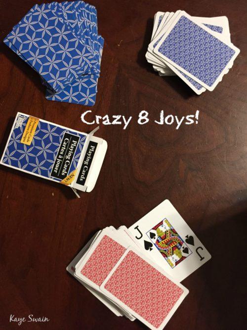 Crazy 8s ruled grandkids this week Kaye Swain