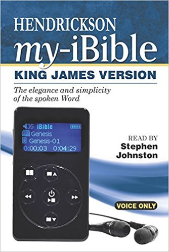 Buy audio Bible like Hendrickson my ibible for elderly mother law