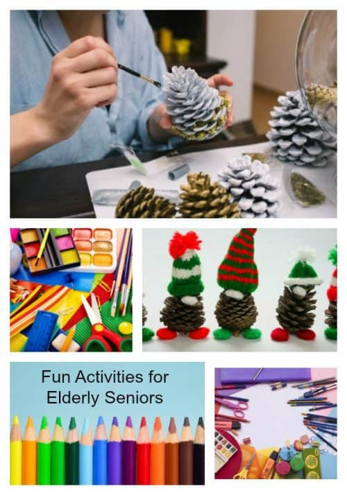 Fun activities for elderly seniors Pinterest