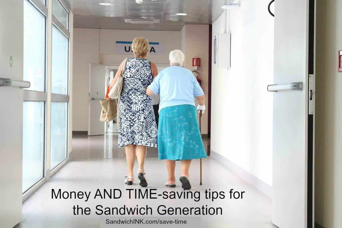 Sandwich Generation money and time tips