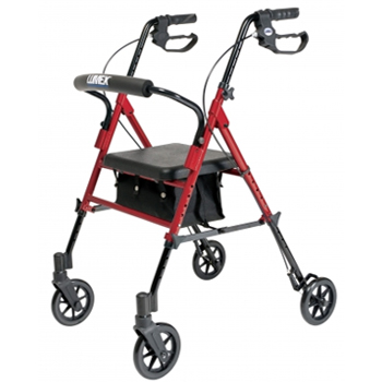 My senior mom has one of the Lumex rollator 4 Wheeled Walkers for Elderly