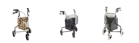 3 wheeled walkers for elderly
