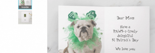 Zazzle is great for fun and st patrick day crafts senior citizens