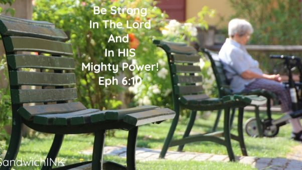 SandwichINK Scripture Sunday Be Strong Bold