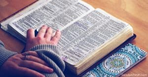 Bible is a blessing for Christians Sandwich Generation of all ages