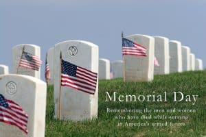 Memorial Day prayers and blessings from and for the Sandwich Generation families